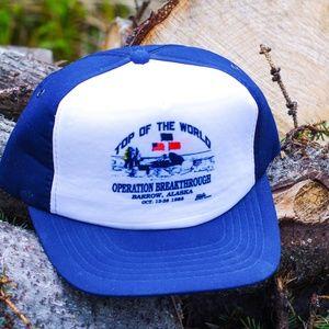 Vintage Operation Breakthrough Trucker Hat- Alaska